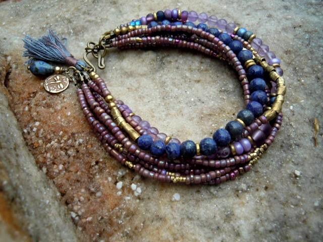 Bohemian Bracelet Gypsy Bracelet Boho Jewelry Yoga