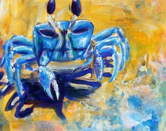 Giclee Fiddler Crab Print -Size Variations available