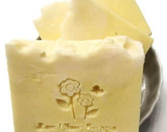 White Citrus Soap - Shea Butter Soap - Gift Wrapped TOO!