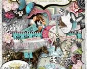 Feelin' Lucky by Papier Creatif - Shabby Chic Digital Scrapbook Kit