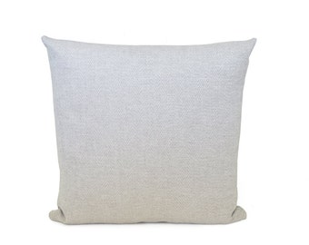 Herringbone Decorative Pillow| Neutral Grey Zig Zag Pillow| Herringbone Grey Throw Pillow.