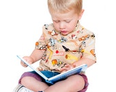 Boys Shirt Easy Sewing Pattern - Instant PDF Download by Anna Vickery - Multi Size Ages 1 to 5 included