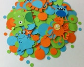 MADE TO ORDER Monster Party Confetti - Customize Your Way