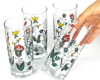 Wine Glasses Silver Amp White Floral Design Wedding Glasses