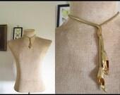 Vintage Calla Lily Necklace