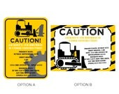 Construction Birthday Theme Printable Party Kit Under Construction