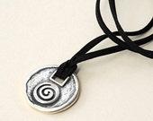 Necklace - Silver Greek Necklace
