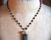Vintage French VIRGIN MARY Early 1900's Pocket Shrine Necklace- They will protect you