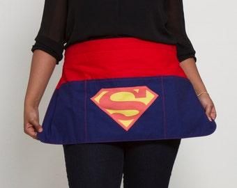 Superman - Women's Half Apron