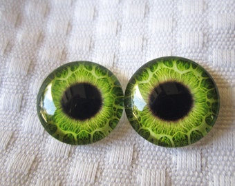 Handmade glass eye 20mm cabochons