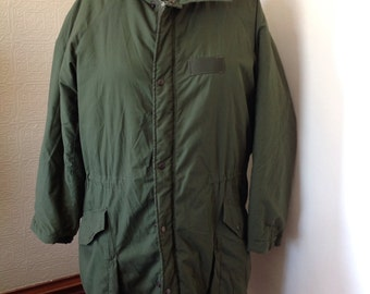 Dark Green Army Coat