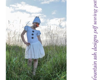 Ballet leotard tutu sewing pattern pdf Ballet Basics 3 in girls sizes 1-14