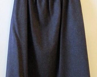 Pendleton Wool Midi Skirt S 27 Waist