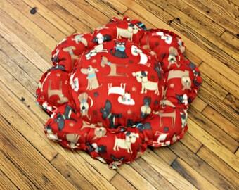 Red Dog Bed Medium Large