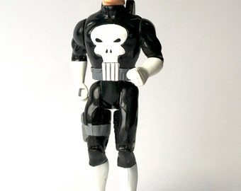 Punisher Action Figure, 1990 Marvel Comics, early figure