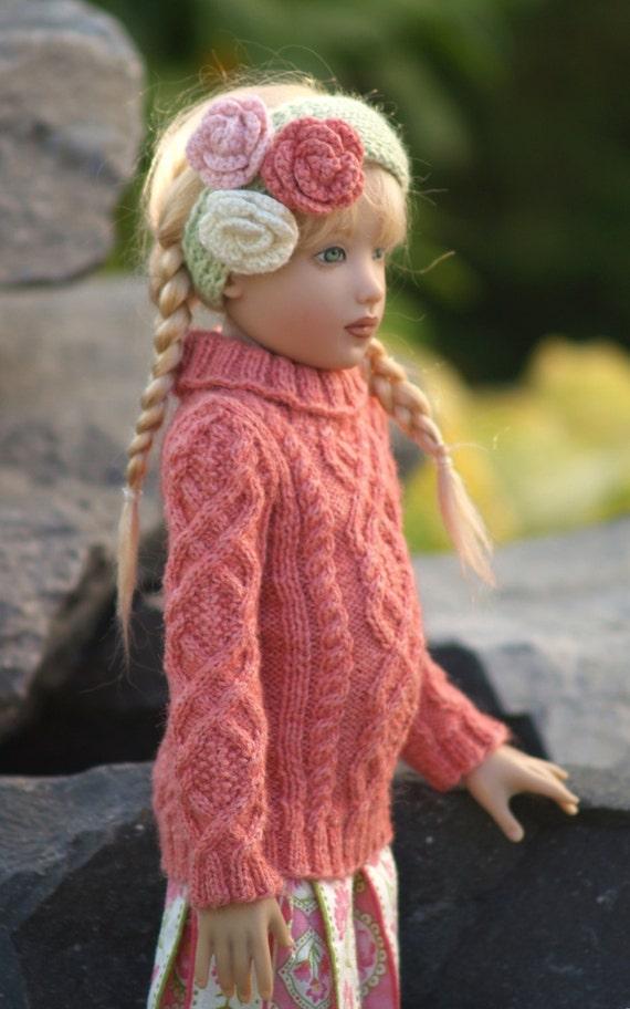 Enchanting ExtrasPDF Knitting Pattern for 12-14 inch dolls