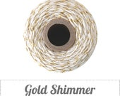 SALE - GOLD Bakers Twine - 30 Feet.  Gold Twine.  Wrapping + Packaging.  Baby Shower, Wedding.  DIY Craft Supplies.