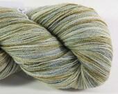 Superwash BFL, Silk, Lace Yarn, 875 yrds, 100g, 2ply, Kettle Dyed,