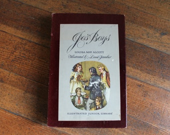 Vintage Book - Jo's Boys by Louisa May Alcott (Illustrated Junior Library 1949)