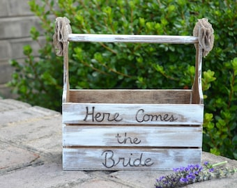 Here Comes the Bride Basket