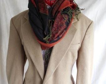 Price drop -Mens 70s Italian 100%  camel hair  blazer chest 44r