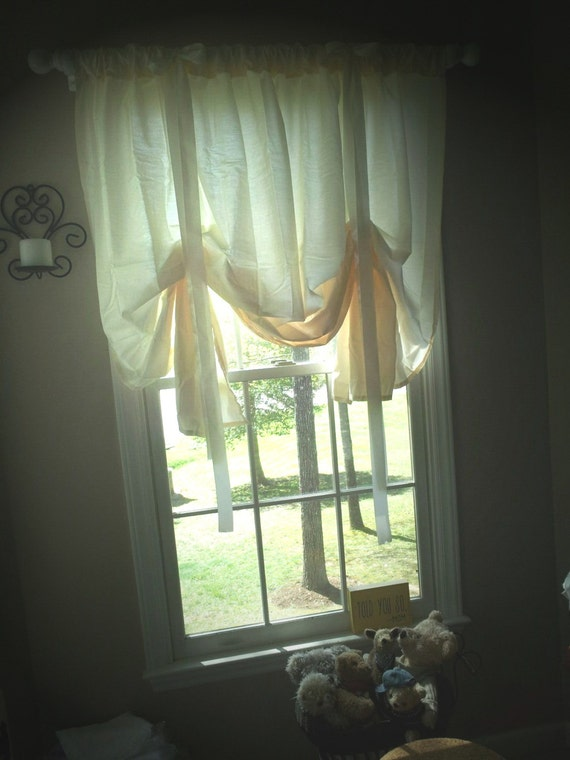 custom balloon valance you choose color and pattern baby
