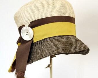 vintage women's hat cloche Mr. John Jr. late 1960's