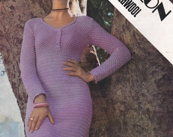 Villawool Classic Knits and Crochet Pattern Book No 138 Vintage 1970s