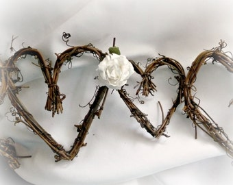 6ft Grapevine Garland, Rustic Baby Shower Decor, With Or Without Roses