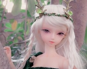 Adjustable tiara, for SD Bjd, Pullip, Blythe Dolls - Guardian of the forest