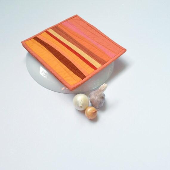 Orange Pot Holders Pot Holders Modern Kitchen By TwiggyandOpal