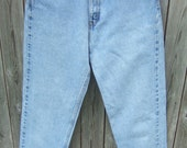 Womens High Waisted Levi Jeans, 560 Loose Fit Straight Leg, Acid Wash