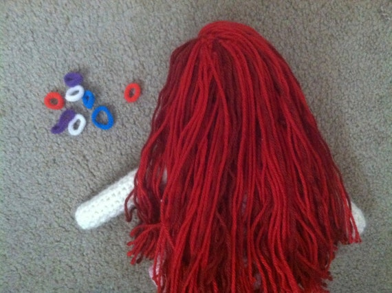 Crochet Hair For Dolls : ... Plates Dolls & Miniatures Figurines Music Boxes Postage Stamps