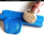 Wax Seal Stamp Set, Initial Font alphabet
