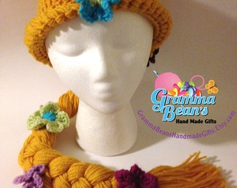 Princess Crochet Hat Pattern