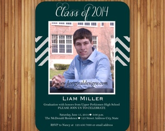 The Baylor Graduation Announcement and Inviation