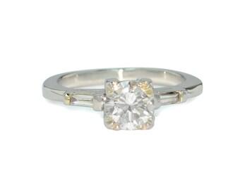 Vintage 1940's-1950's Diamond Engagement Ring