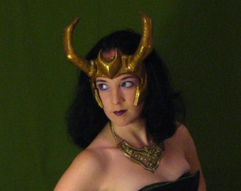 Loki Agent of Asgard Headpiece Style #2 - Made to Order