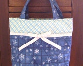 Let it Snow Quilted Tote