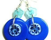 Big Bold Fashion Earrings - Colorful Dangles