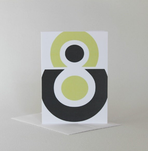 Modern Alphabet Cards, Blank Cards, Boxed Greeting Cards, Letter Typography Cards, Graphic Card Set, All Occasion Cards