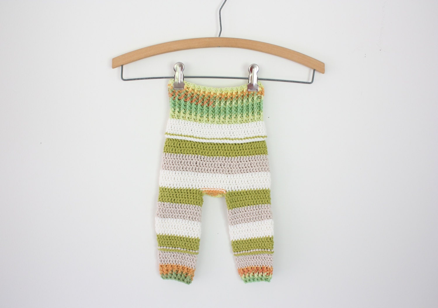 PATTERN Crochet Baby Clothes Pants Romper Infant Boy or Girl