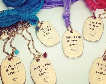 This Land is Your Land... Necklace