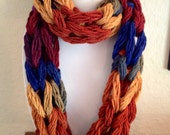 Colorful Chain Scarf - Neck Warmer