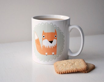 Felicity Fox Mug - Woodland Animals