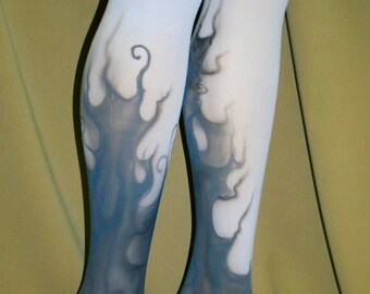 monster high inspired tights