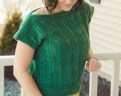 Portico Sweater Kit - Contains: PDF Pattern and Aspen Sport Yarn in Colorway of Choice