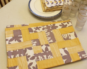 Easy-Peasy Placemat PDF Pattern