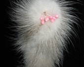 FREE Shipping in North America! Vintage 1960's Mink Brooch Fur Pin
