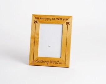 Personalized Photo Frame, Engraved Wood Frame, Mothers Day Gift, Custom Engraved Frame, Personalized Wedding Gift, 1 Photo Frames